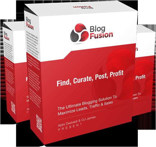 Blog Fusion 100 Sites License