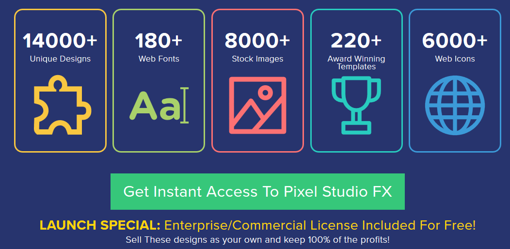 Pixel Studio FX 2.0 eCovers Software By Jimmy Kim