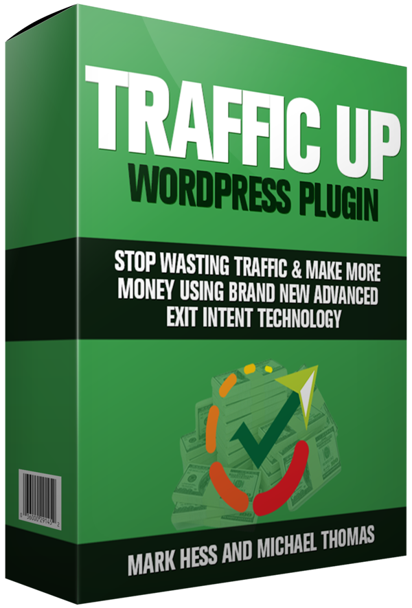 "WP Traffic Up WordPress Plugin By Mark Hess Review : The Only Exit Traffic Plugin You'll Ever Need With Video ""Autoplay Ready"" Technology Built-In, Stop Wasting Traffic & Make More Money Using Brand New Advanced Exit Intent Technology"