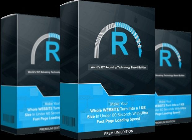 Rebake Premium Edition Website Builder Software By Jai Sharma