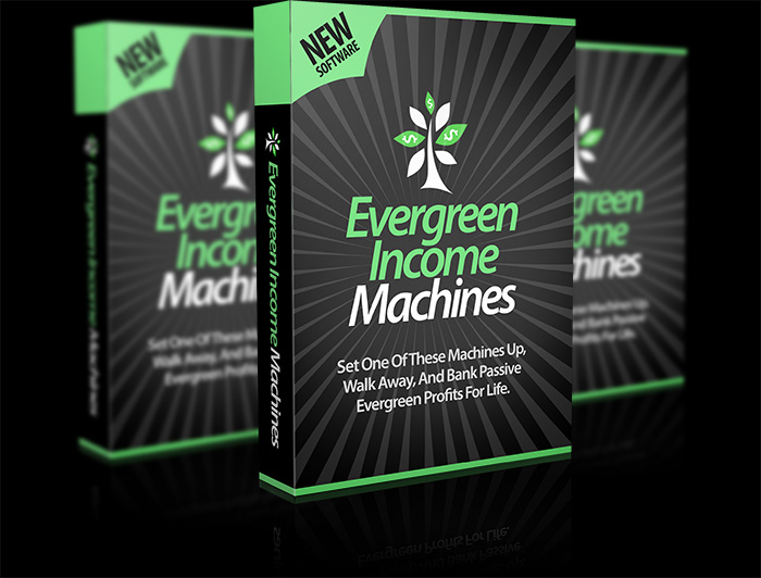 Evergreen Income Machines Software By Declan Mc