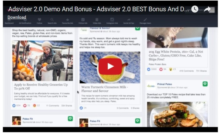 Adsviser 2.0 Full Facebook Marketing App Software By Abhi Dwivedi