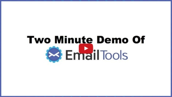 Email Tools By Jimmy Kim Review