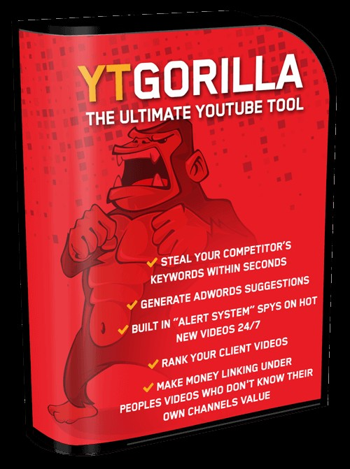 YT Gorilla Youtube Tool Video Marketing Software By Chris Fox