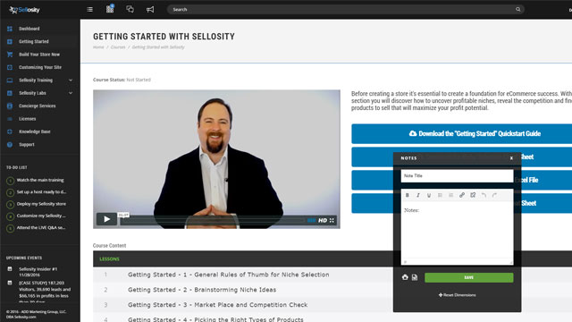 Sellosity eCommerce Platform WordPress Plugin Software By Sean Donahoe