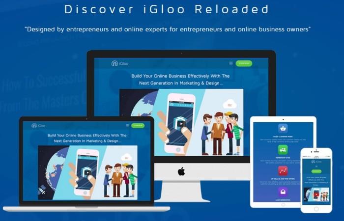 IGloo Premium Reloaded App Software By Josh Ratta