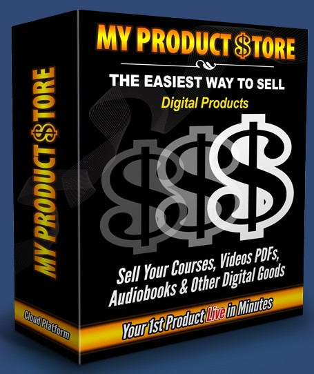 My Product Store Software by Chris Hitman
