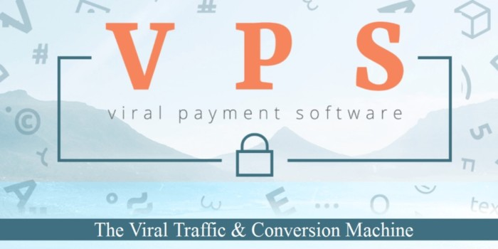 VPS Premium Viral Payment Software by Simon Harries