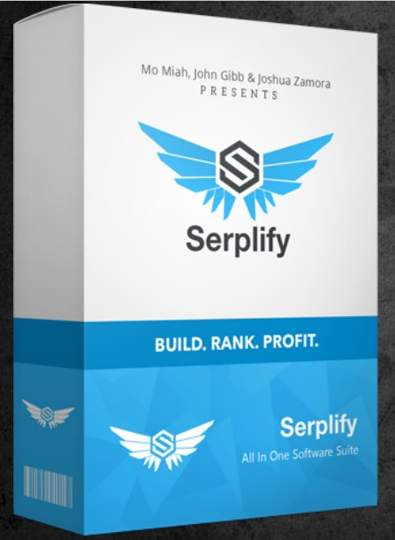 Serplify Software by John Gibb & Mo Miah