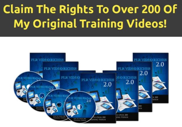 PLR Video Riches 2.0 Package 2017 by Francis Ochoco