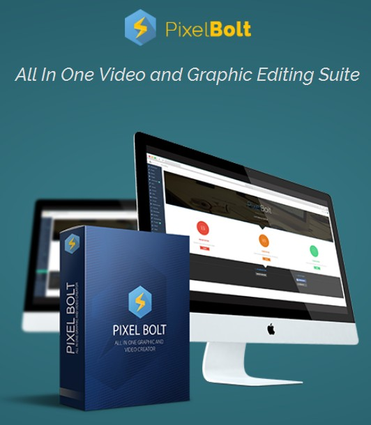 PixelBolt Graphic and Video Editing Suite Plugin Software by
