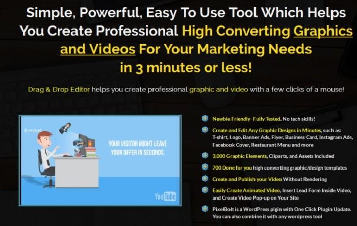 PixelBolt Graphic and Video Editing Plugin Software by Maulana Malik