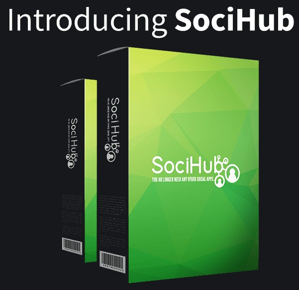 Soci Hub Social Media Software Agency License by Paul OKeeffe