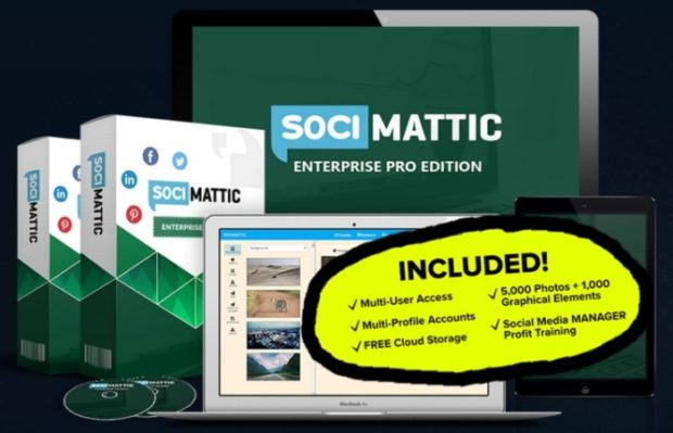 Socimattic Enterprise Pro Edition Agency License by Brett Ingram