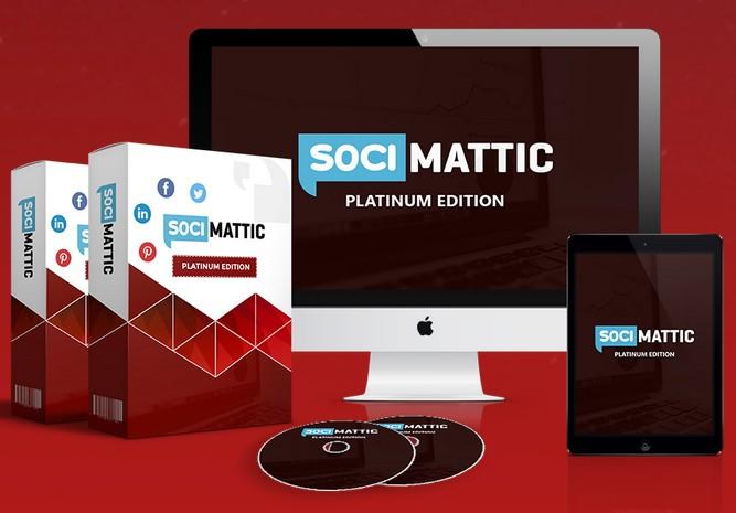 Socimattic Platinum Edition Upgrade OTO by by Brett Ingram and Mo Latif