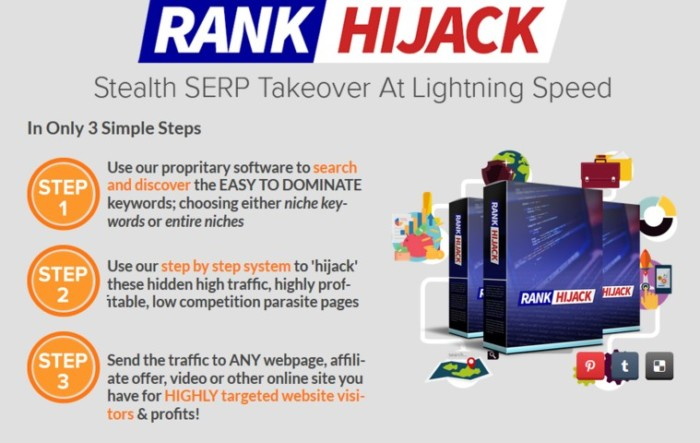 Rank Hijack by Cindy Donovan