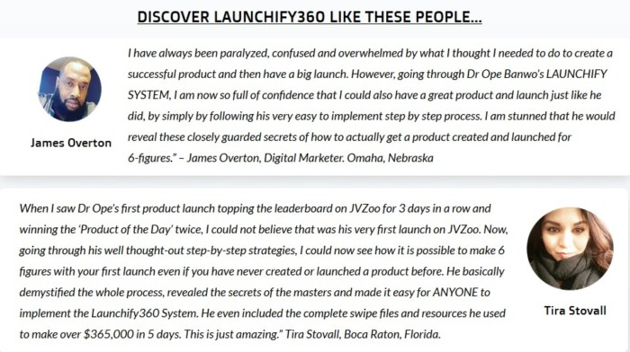 Launchify360 Training System by Dr. Ope Banwo