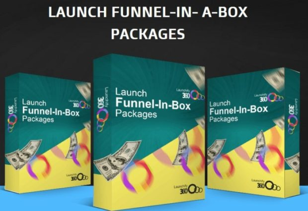 Launchify360 Launch Funnel-In-Box Packages Upgrade OTO by Ope Banwo