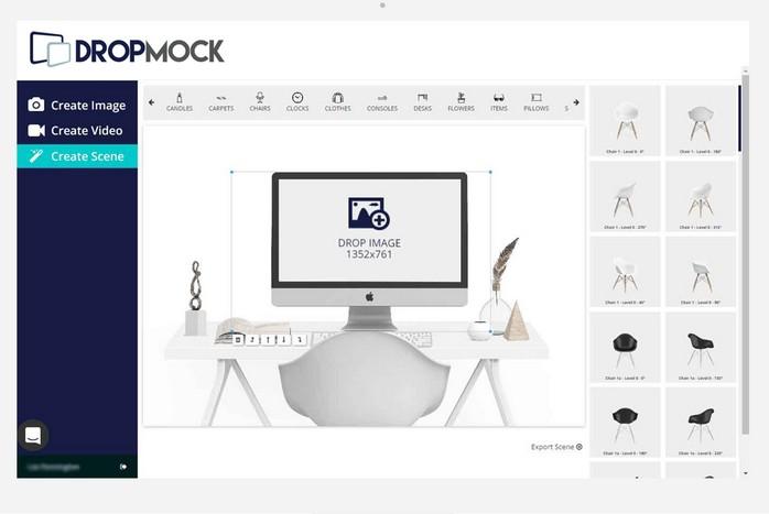 DropMock Scene Creator Pro Software by Lee Pennington