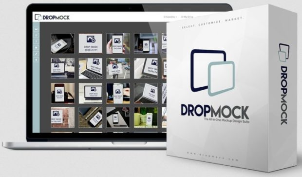 DropMock Scene Creator Software by Lee Pennington