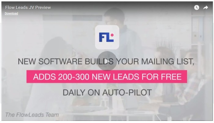 FlowLeads App List Building Software by Precious Ngwu