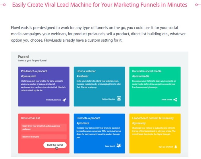 FlowLeads Viral Email List Building Software by Precious Ngwu