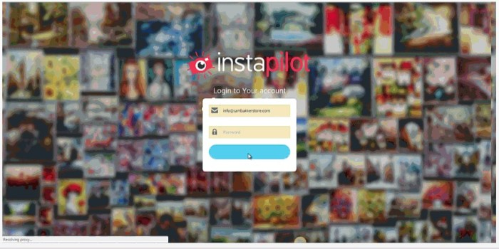 InstaPilot Instagram Profit Tool Software by Sam Robinson