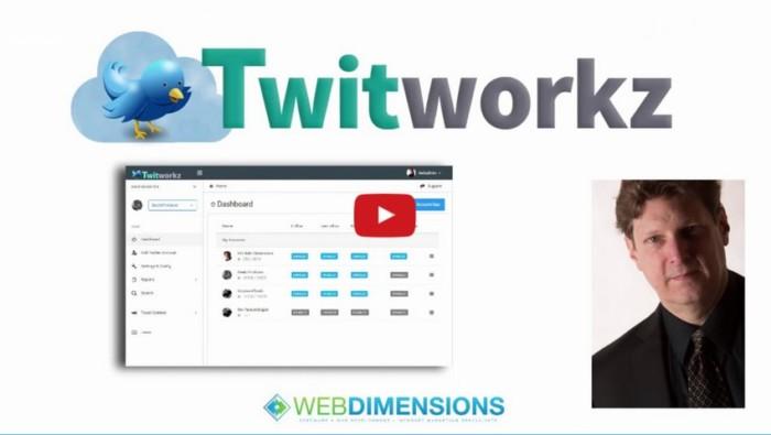 Twitworkz Twitter Following Builder Software by Hugh Hitchcock
