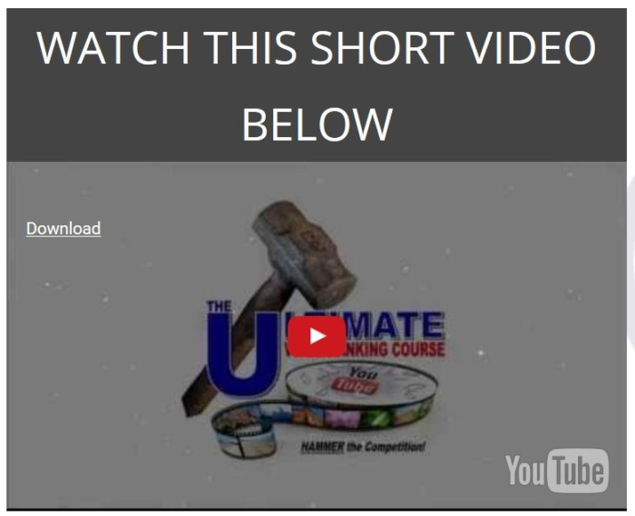 Ultimate Video Ranking Course by Gary Affron