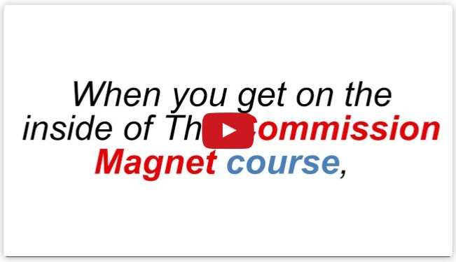 Commission Magnet Training Course by Glynn Kosky