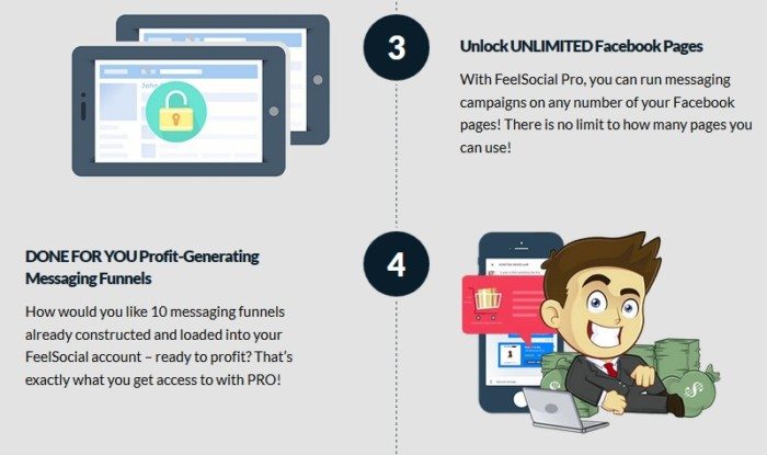 FeelSocial Pro Upgrade OTO by Brad Stephens