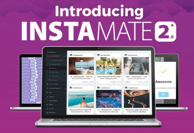 Instamate 2.0 Luxury Edition 2017 Instagram Software by Luke Maguire