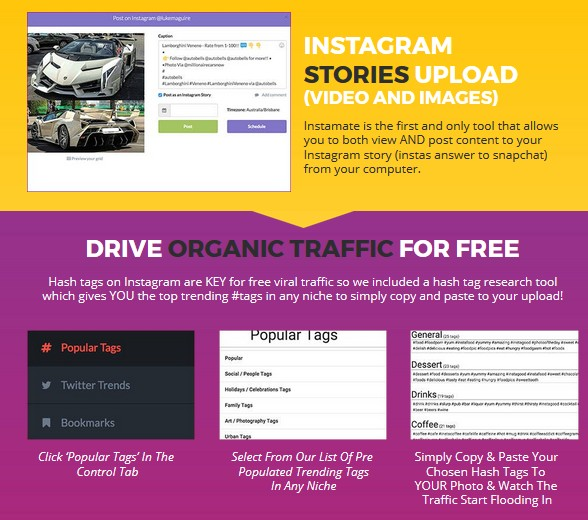 Instamate 2.0 Instagram Software by Luke Maguire