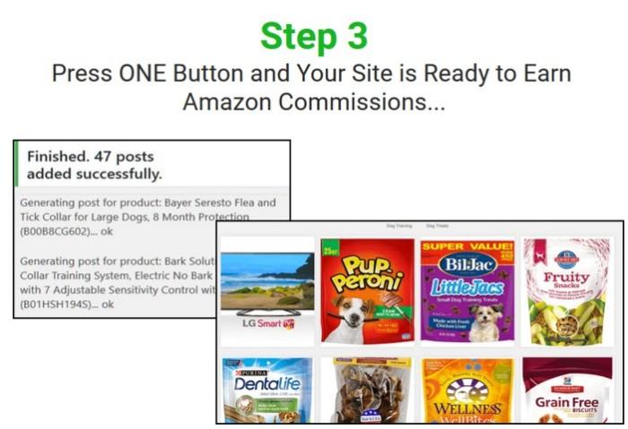 Azon Profit Builder Amazon Website Builder Software by Ankur Shukla