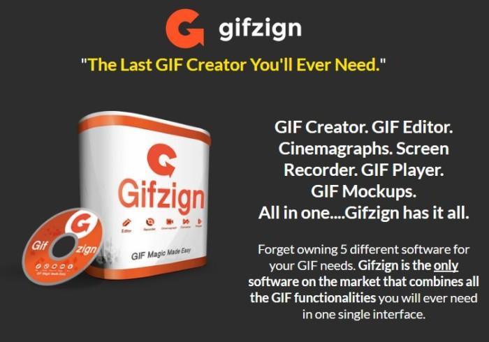 Gifzign GIF Animation Software by Martin Crumlis
