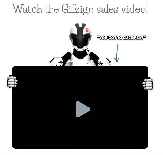Gifzign GIF Software by Martin Crumlish