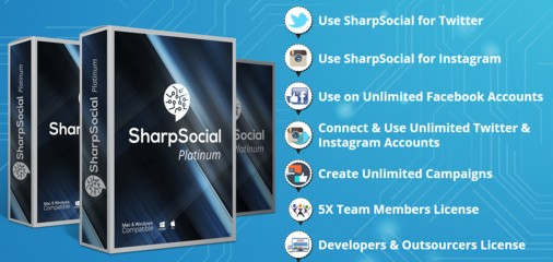 SharpSocial Platinum Upgrade OTO by Ben Murray