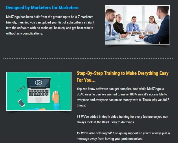 MailZingo Email Marketing Software by Amit Pareek