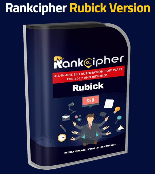 Rankcipher Rubick Version Upgrade OTO by Tom Yevsikov