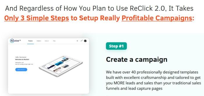 ReClick 2.0 Marketing Platform by Precious Ngwu
