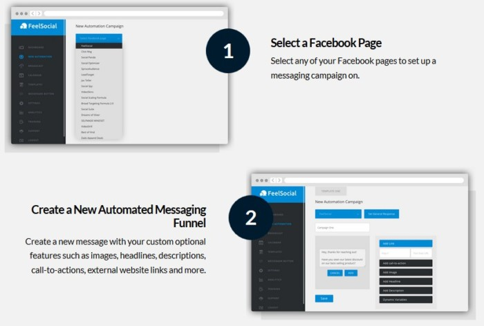 FeelSocial Facebook Messaging Software by Brad Stephens