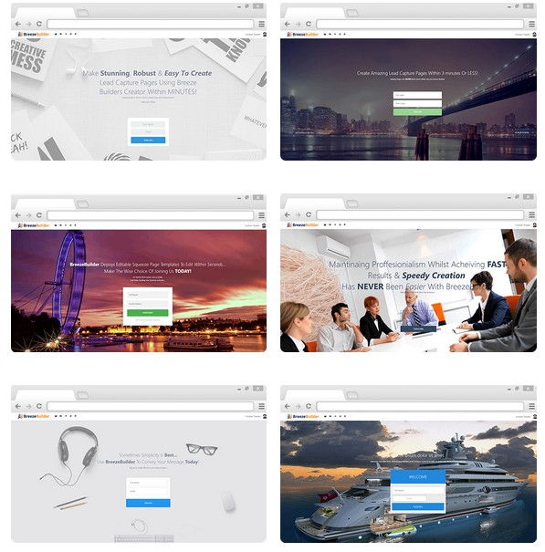 Breeze Builder Landing page And HTML Email Builder Software by Craig Crawford