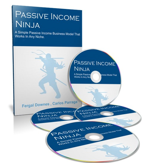 Passive Income Ninja IM Training Course by Fergal Downes