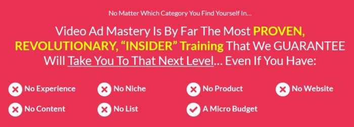 Video Ad Mastery Software by James Sides