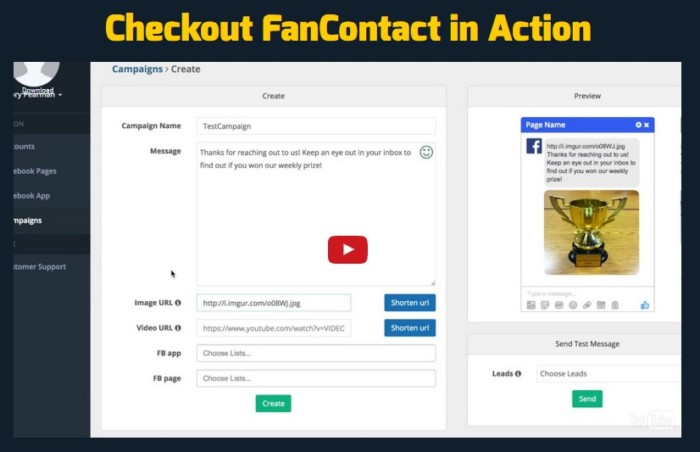 FanContact Passive Opt-in Accelerator Software by Andrew Darius