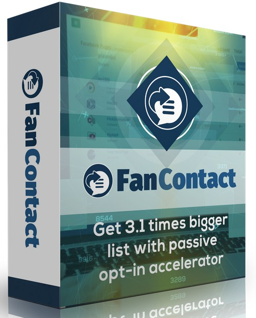 FanContact 5k Passive Opt-in Accelerator Software by Andrew Darius