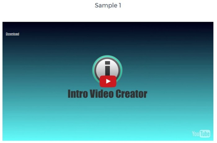 Intro Video Creator Logo Stinger Making Software by Jimmy Mancini