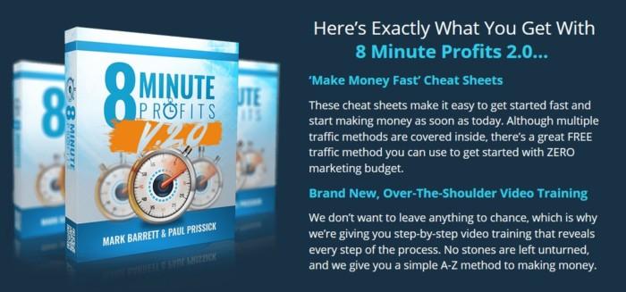 8 Minute Profits 2.0 Training Formula by Mark Barrett WSO