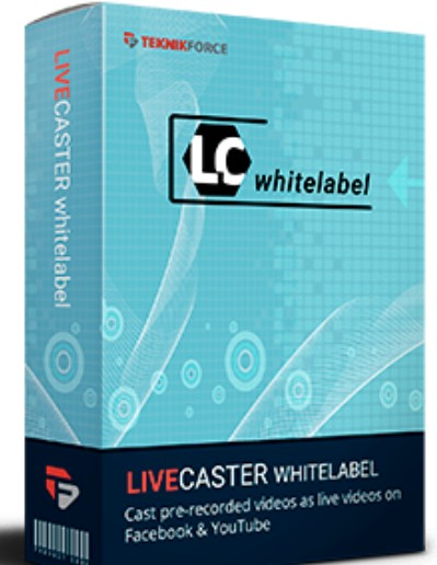 Livecaster Whitelabel Unlimited by Cyril Gupta