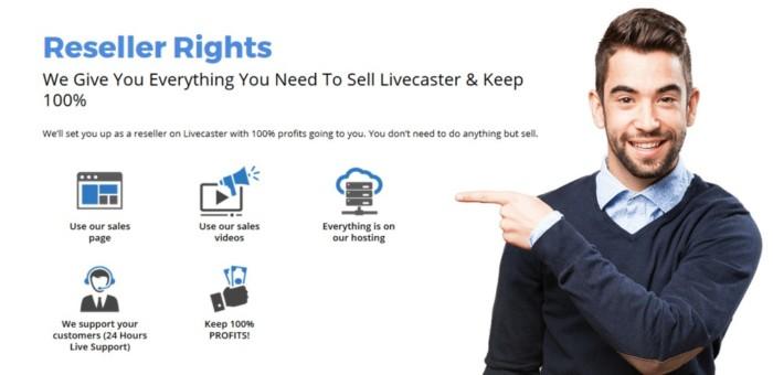 Livecaster Whitelabel Rights by Cyril Gupta